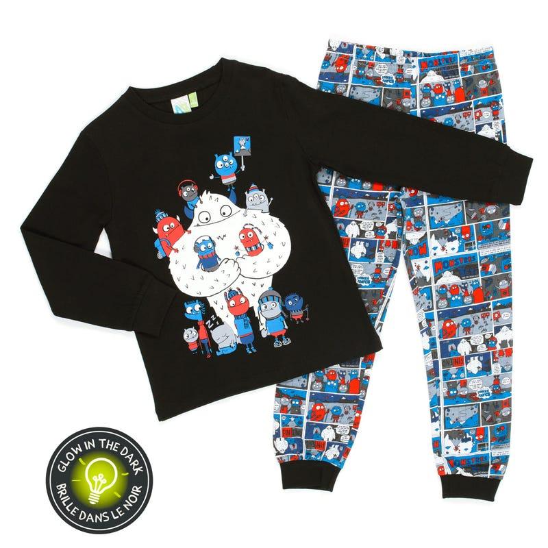 Monsters Pajamas 7-12y