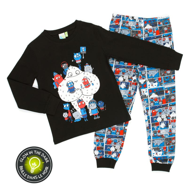 Pyjama Monstres 7-12ans