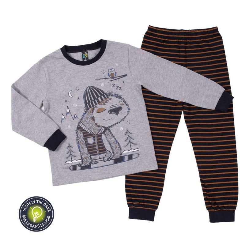 Sloth Pajamas 2-6