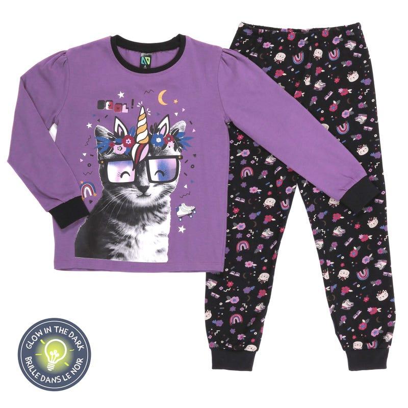 Pyjama Chat-Licorne 7-12ans