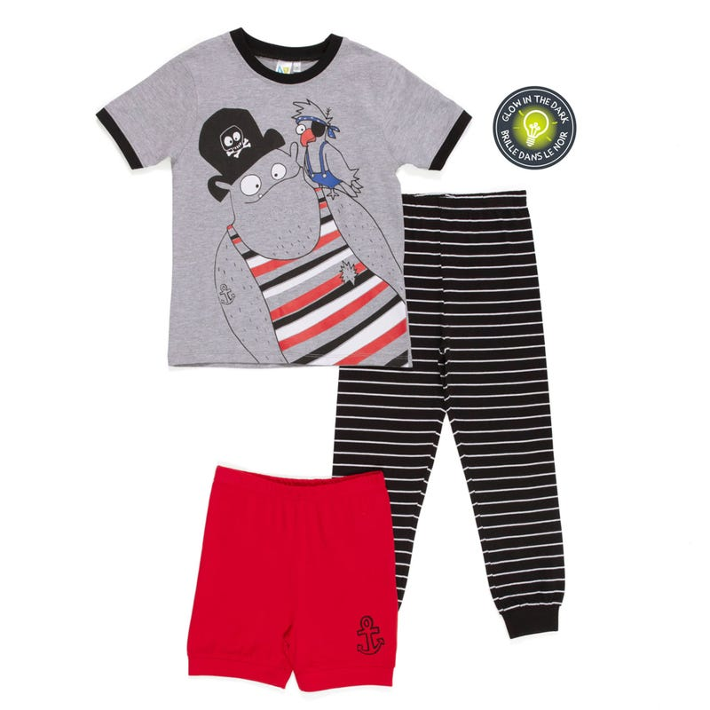 Pirate 3pcs Pajamas 2-6
