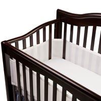 Tour de Lit Bébé en Mèche - Blanc