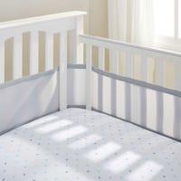 Mesh Crib Liner - Gray