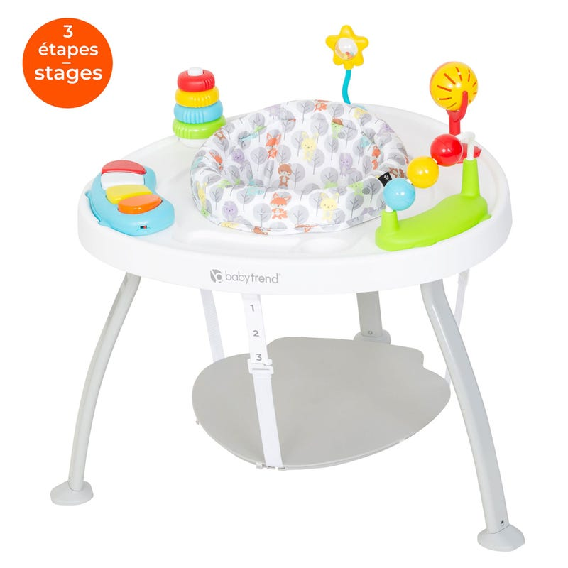 3-in1 Bouncer N' Play Activity Center - Woodland Walk