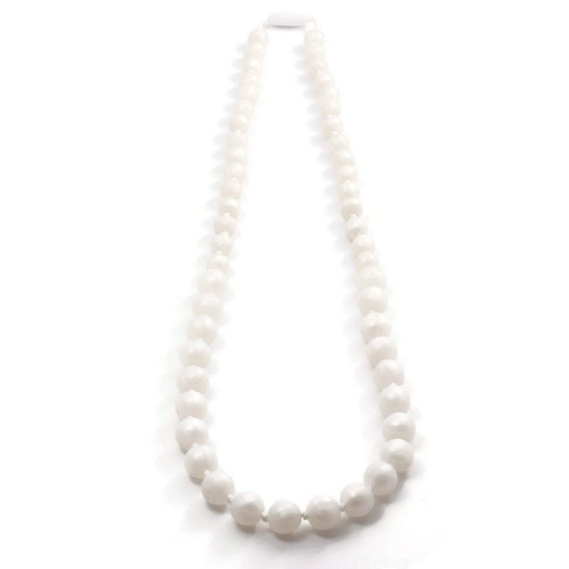 Mommy Necklace 88cm - Pearl/White