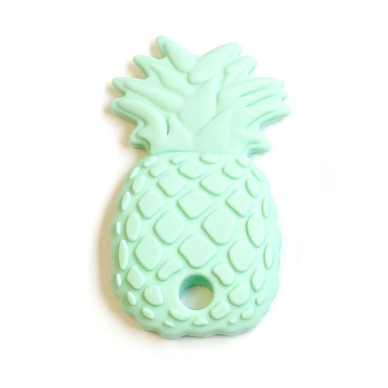 Pineapple Teether - Mint