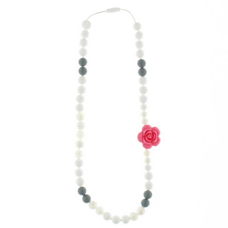 Collier Maman 88cm - Fleur Corail