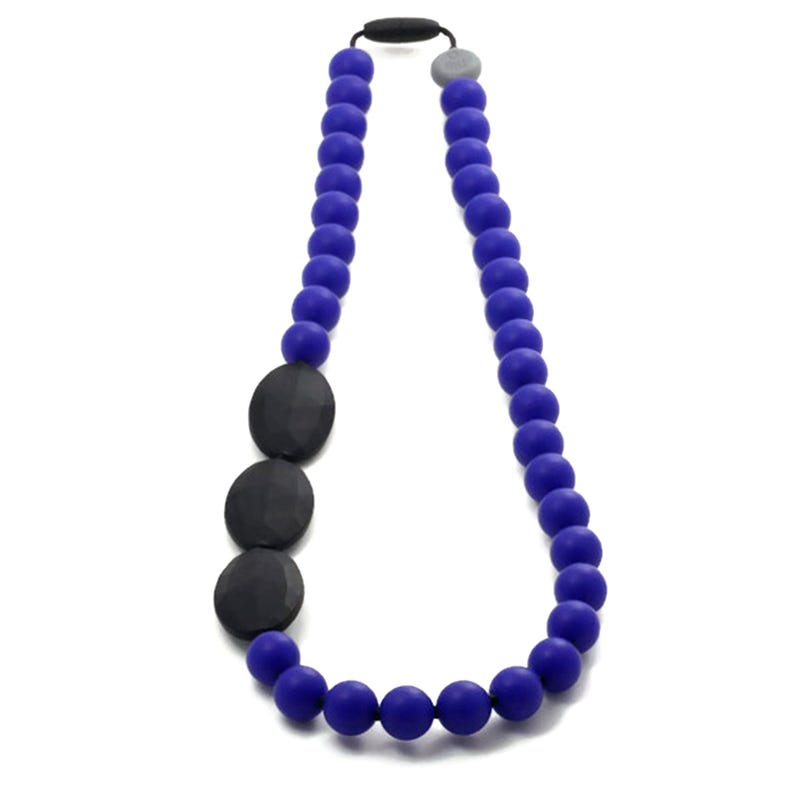 Mommy Necklace 82cm - Blue/Black