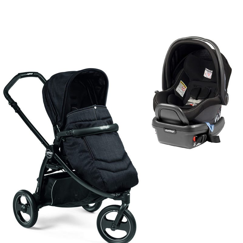 Bundle Book Scout Stroller and Primo Viaggio Car Seat - Onyx