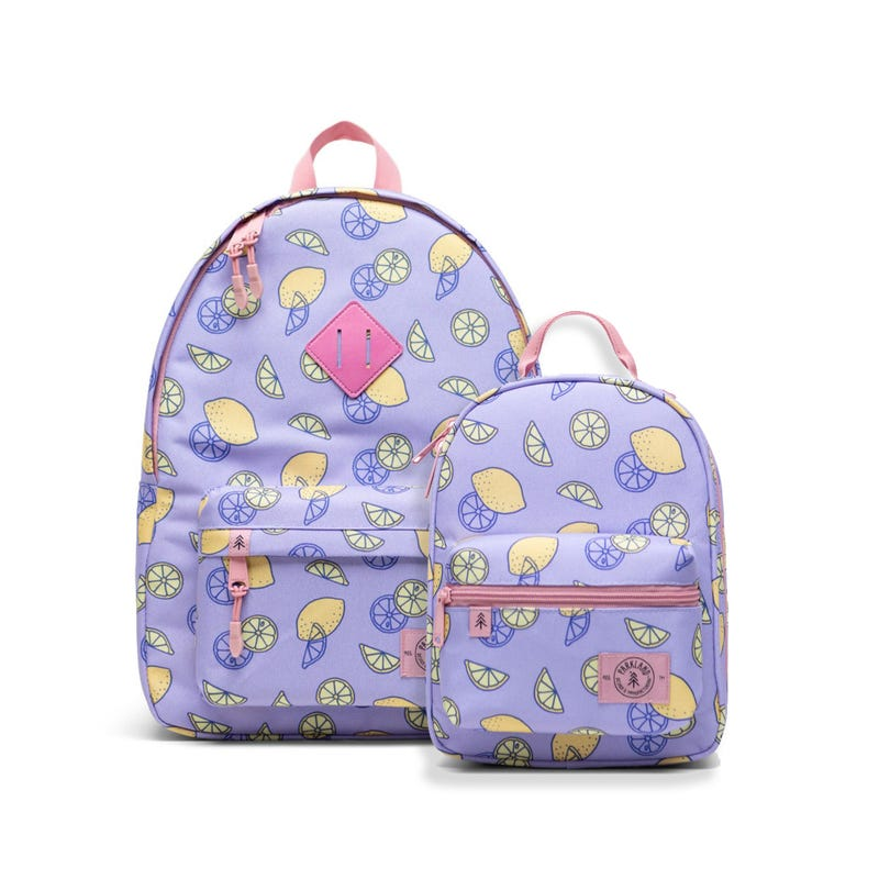Bundle Backpack 20L and Lunch Box- Lemon