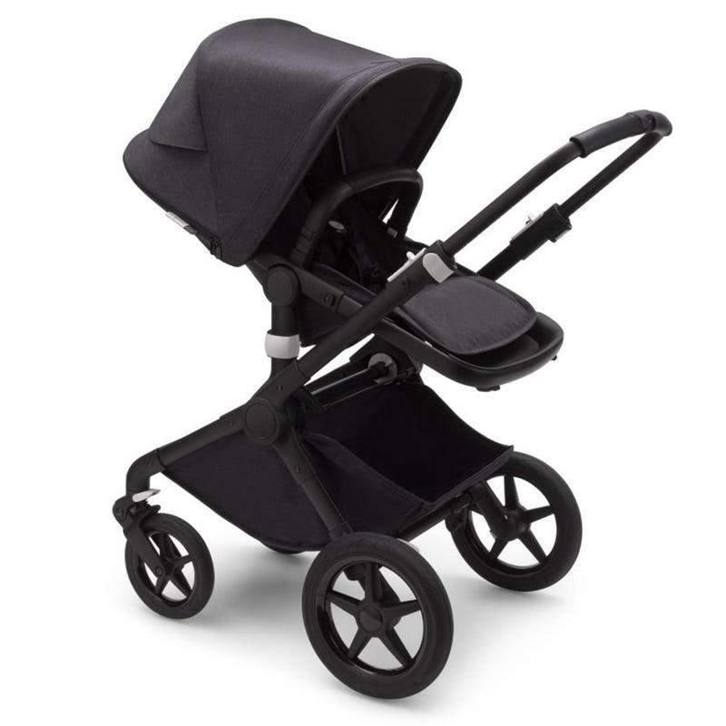 Fox2 Complete Stroller - Washed Black