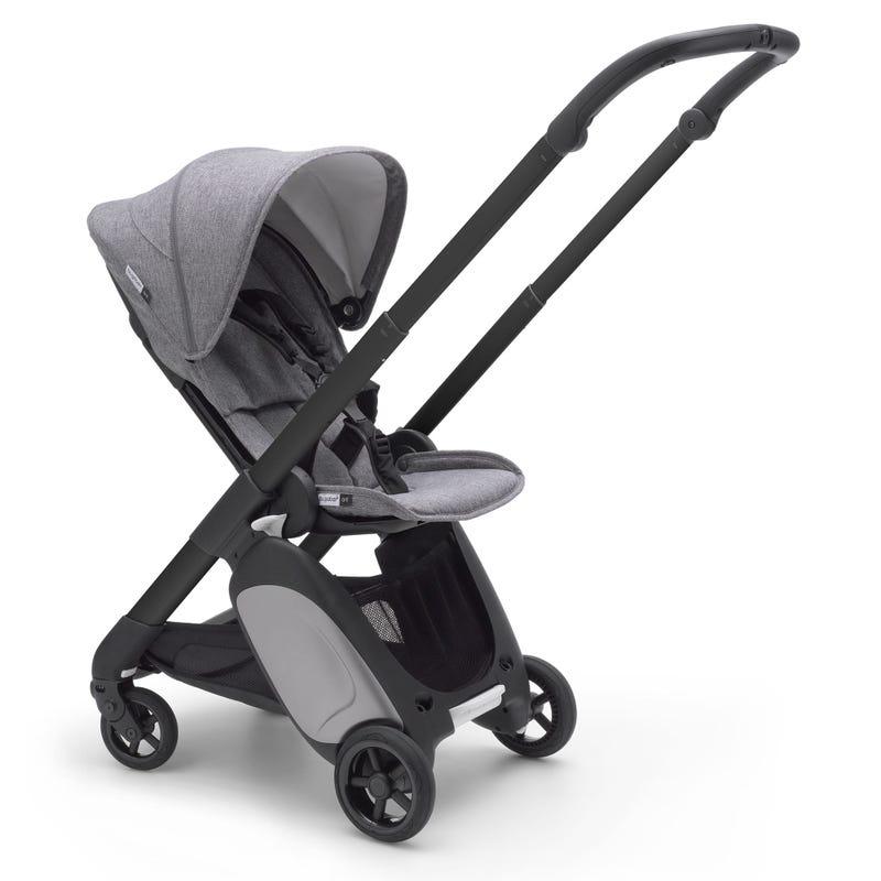 Bugaboo Ant Stroller - Black/Grey Melange