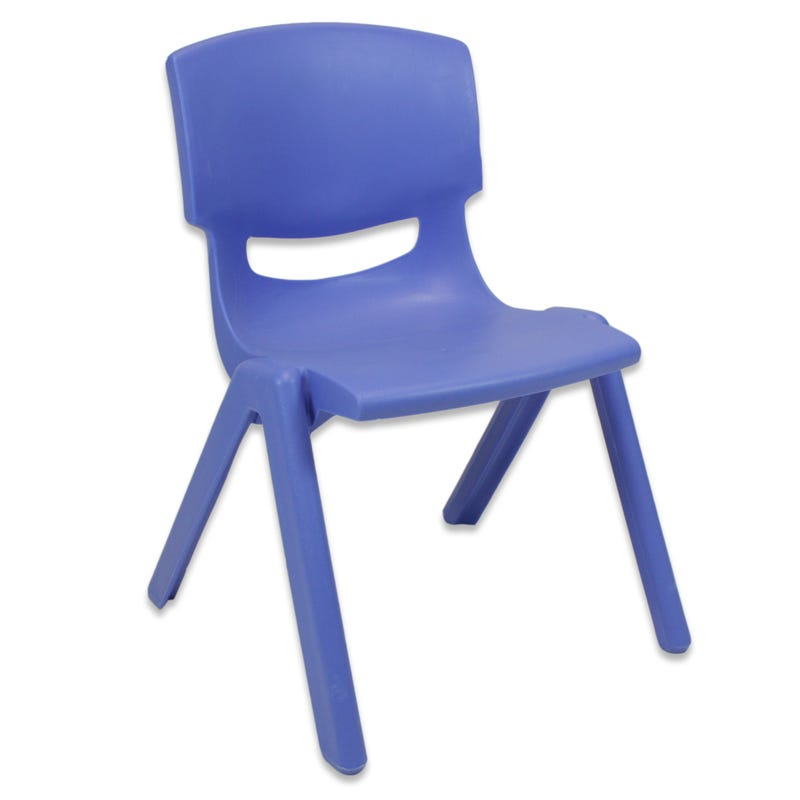Plastic Chair - Blue