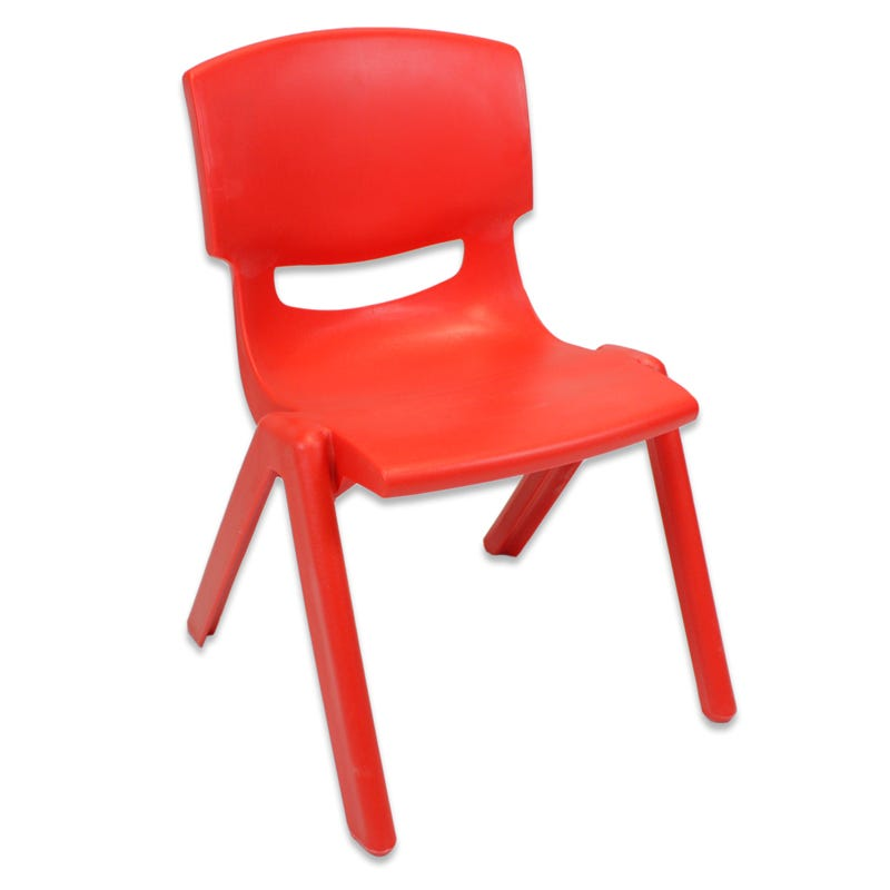 Plastic Chair - Red