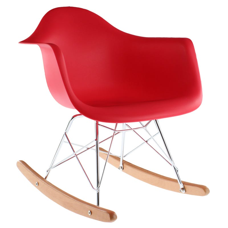 Chaise Berçante - Rouge
