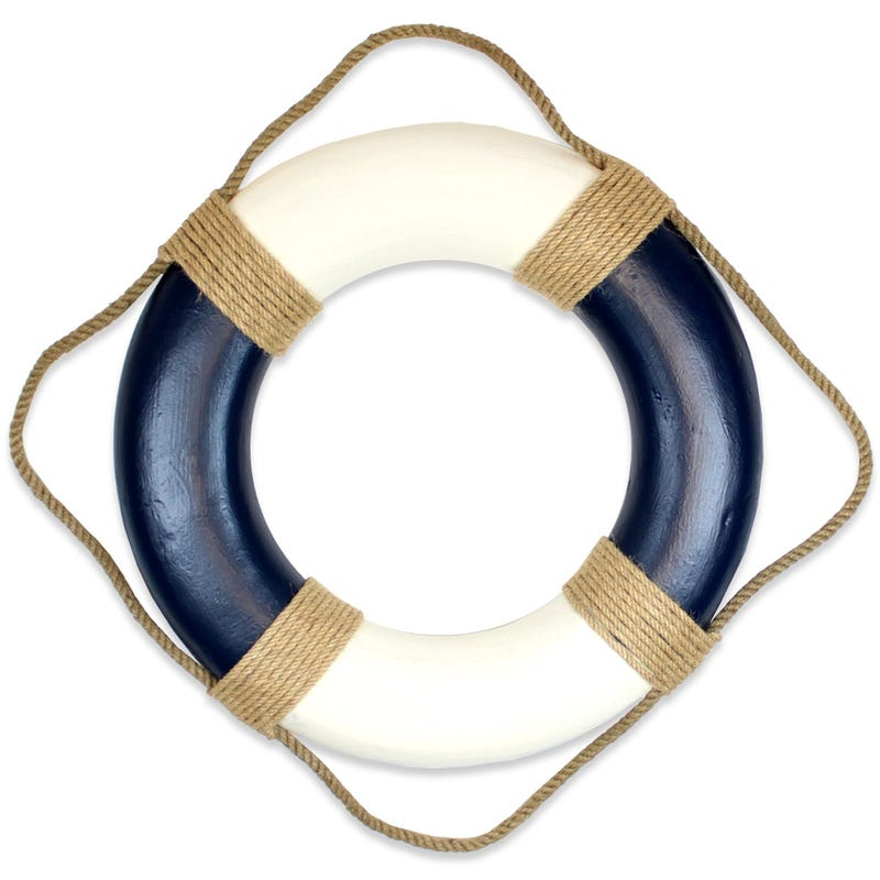 Decorative Buoy - Navy