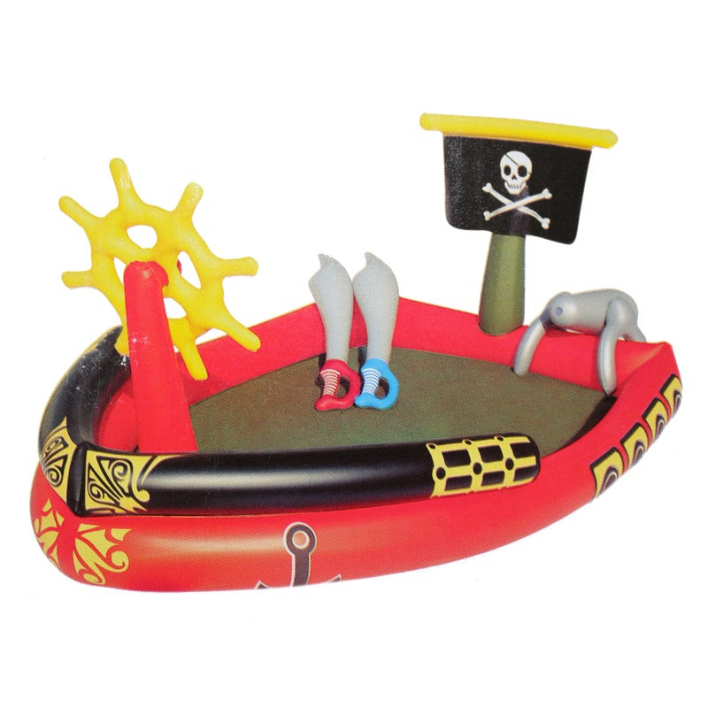 Pirate Boat Swimming Pool
