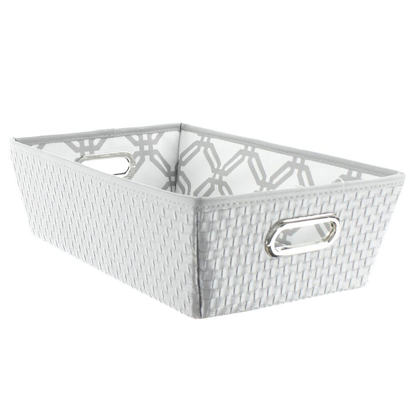 Basket - Gray/White