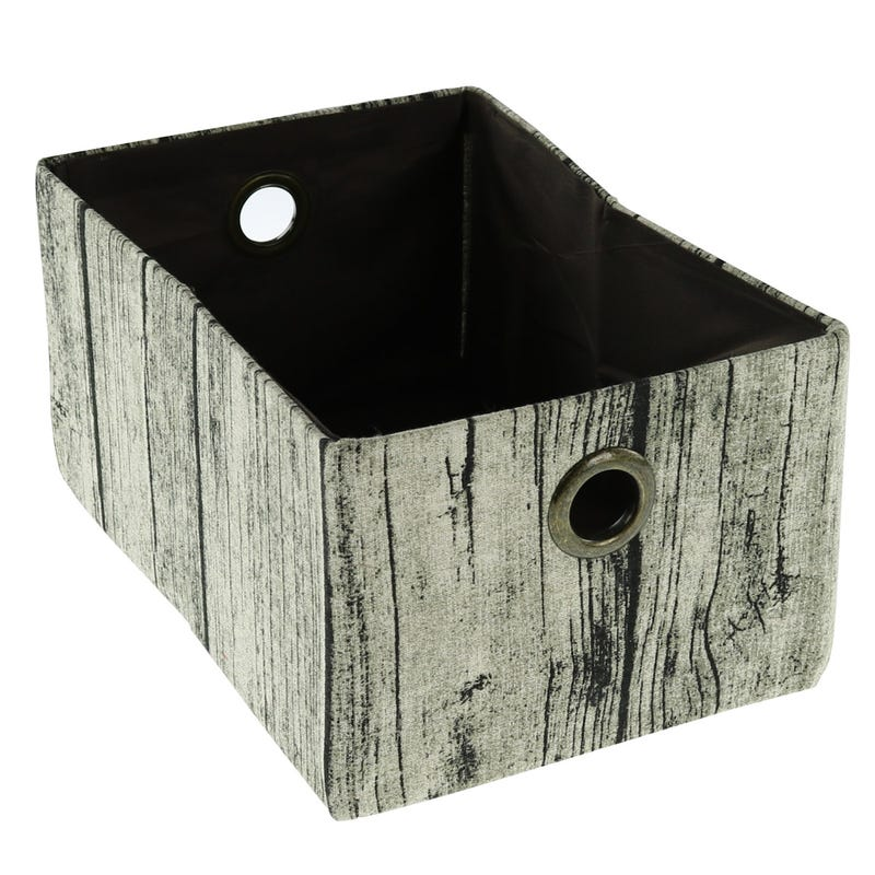 Wood Imitation Basket - Dark