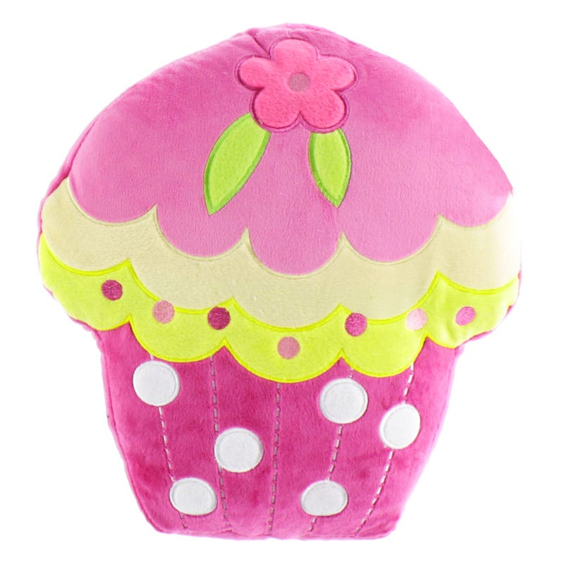 Coussin Cup Cake - Fuchsia