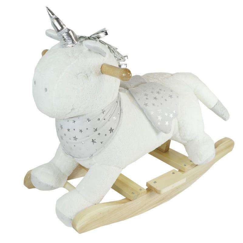 Wooden Rocking Unicorn