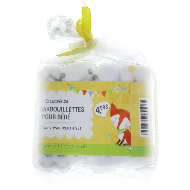 Washcloth 8-Pack - Yellow