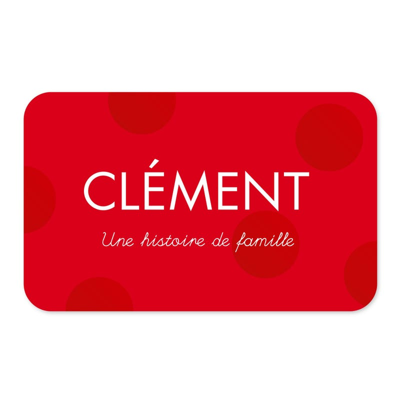 CLEMENT GIFT CARD