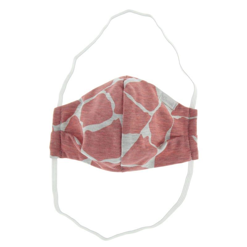 Masque de Protection 2-16ans - Rose (fait au Québec)