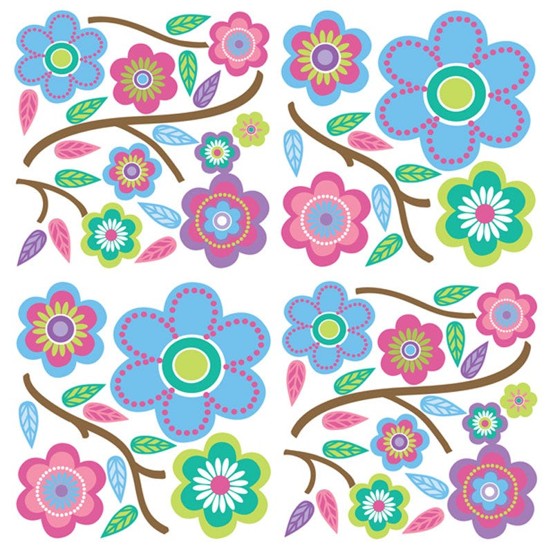 Wall Stickers - Cutsie Blooms