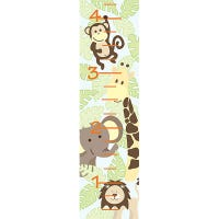 Wall Stickers - Jungle Friends Growth Chart