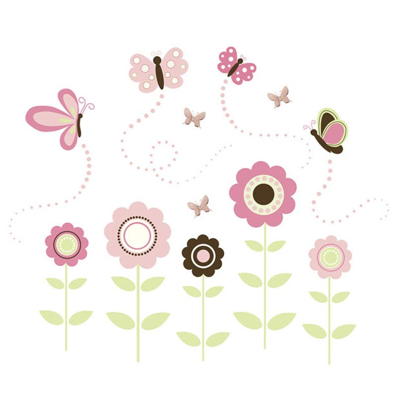 Wall Stickers - Butterfly Garden