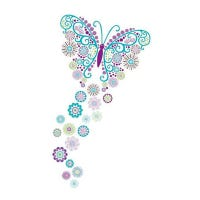 Wall Stickers - Social Butterfly