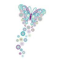 Autocollants - Papillon