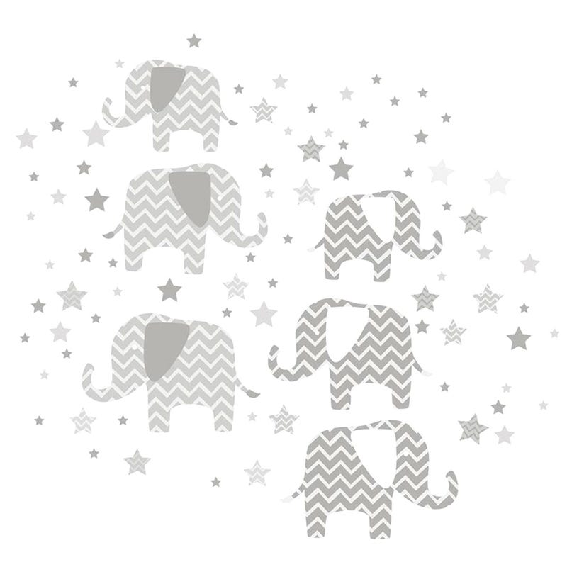 Wall Stickers - A Ton Of Love Elephant