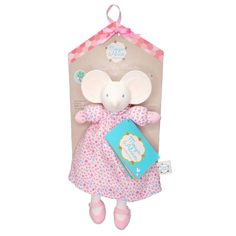 Soft And Teething Toy - Meiya The Mouse