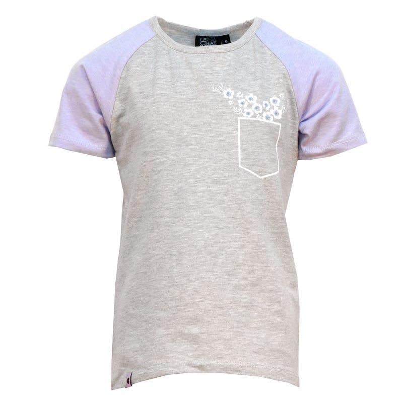 T-Shirt Raglan Tropique 2-8ans