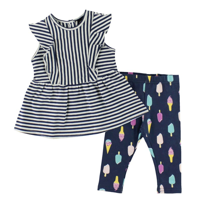 Fun Ice Cream Pant Set 3-24m