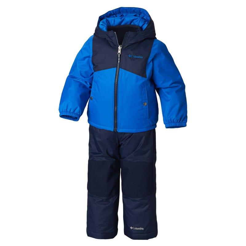Double flake snowsuit 12-24m