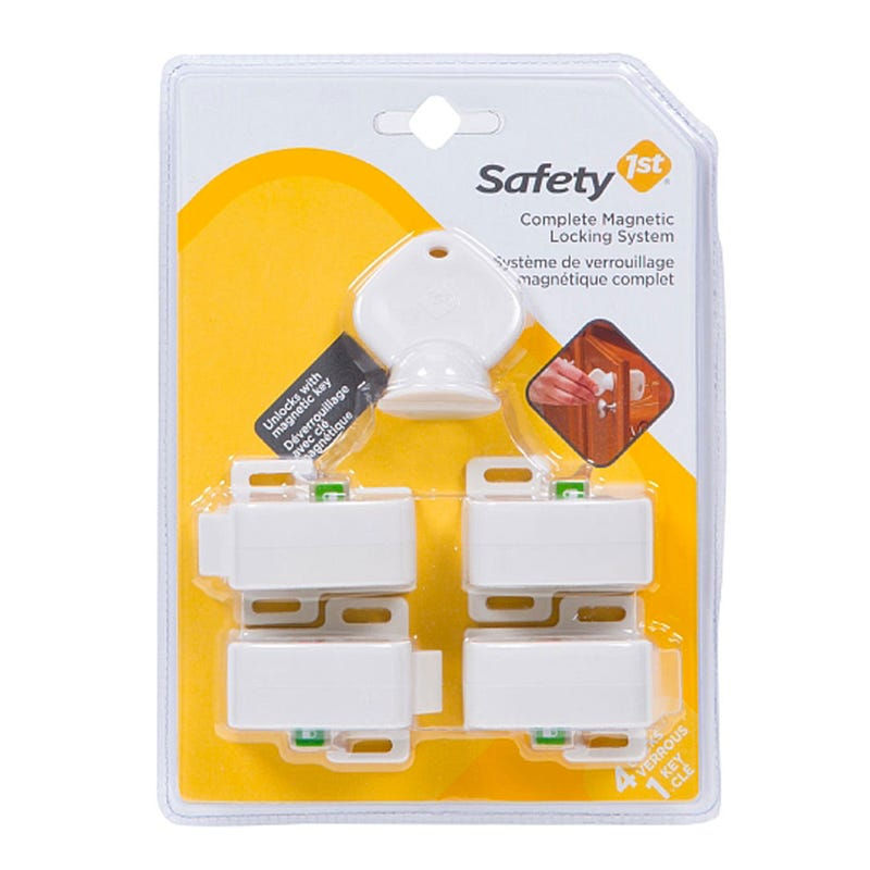 Magnetic Locking System - Set of 4