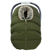 Winter Baby Car Seat Cover - Khaki
