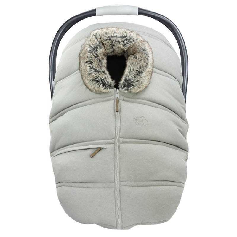 Winter Baby Car Seat Cover - Grayge