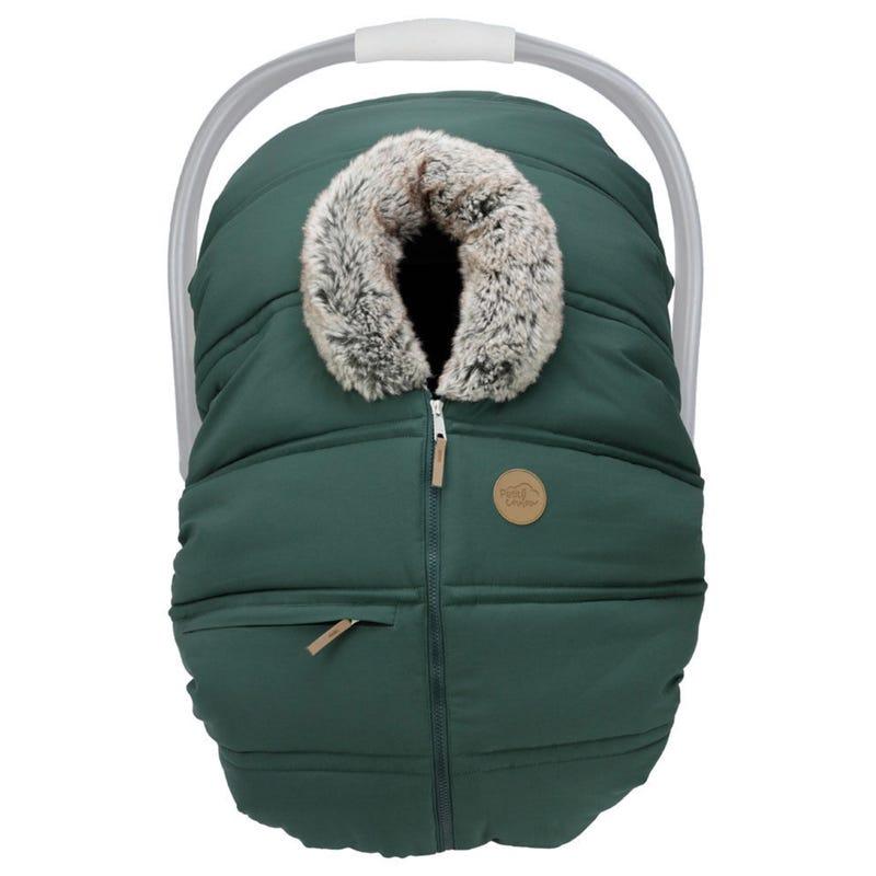 Winter Baby Car Seat Cover - Boréal