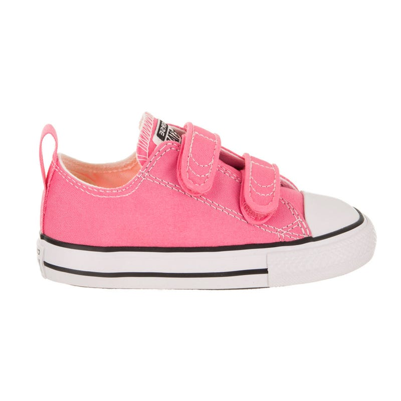 Chuck Taylor All Star Hook and Loop Low Top Sizes 4-10 - Pink