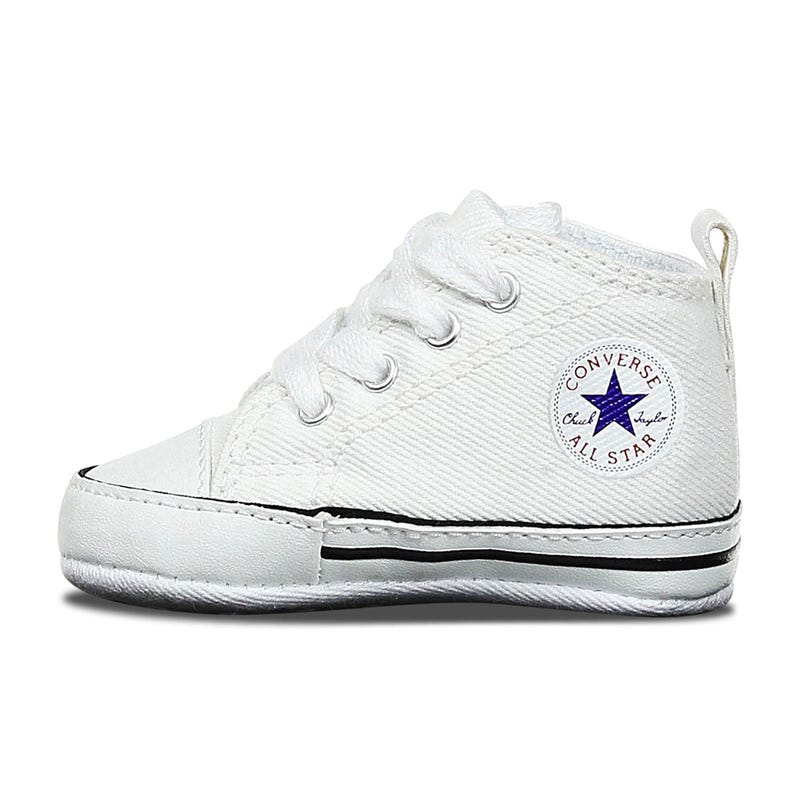Chuck Taylor First Star Sizes 1-4 - White