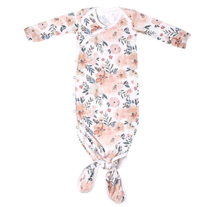 Dormeuse à Noeud 0m+ - Automne Fleurs