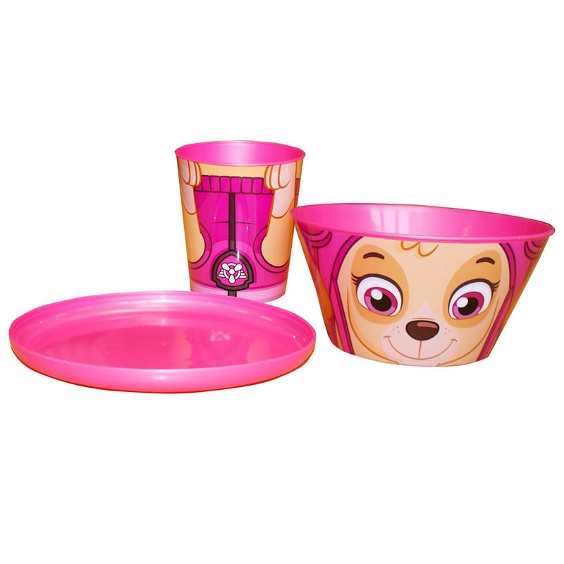 Paw Patrol Dishes 3 Pieces - Stella