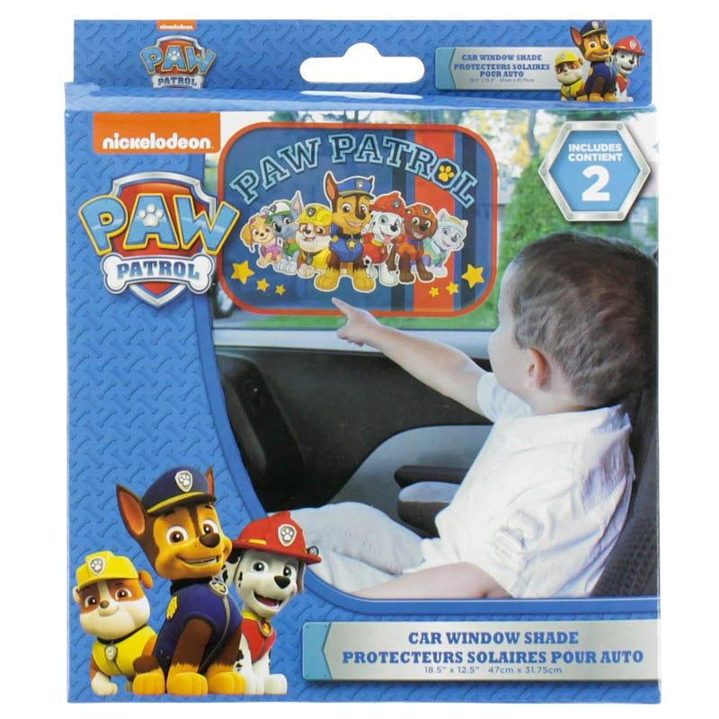 Paw Patrol Car Window Shade Set of 2