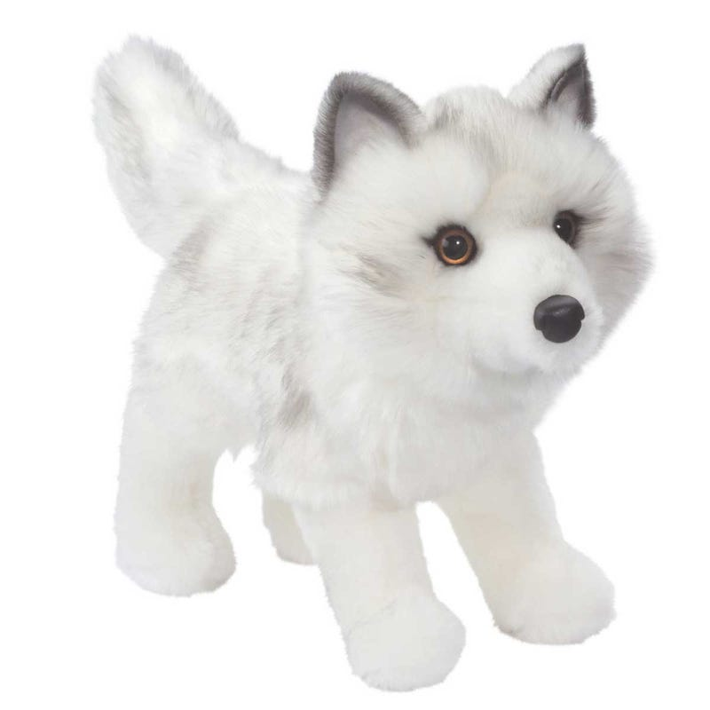 Fox Plush - White