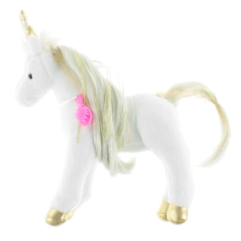 Licorne Princess Plush With Brush