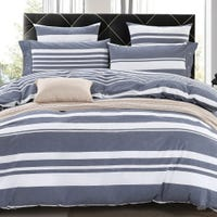 Twin Duvet Cover Lined - Gray